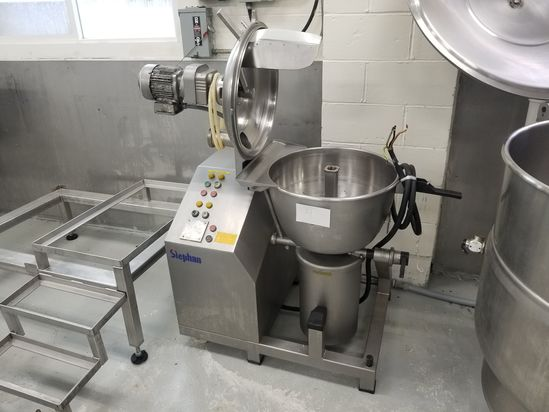 Stephan Model UM44E Universal Machine (Vertical Cutter Mixer), S/N: 731082;