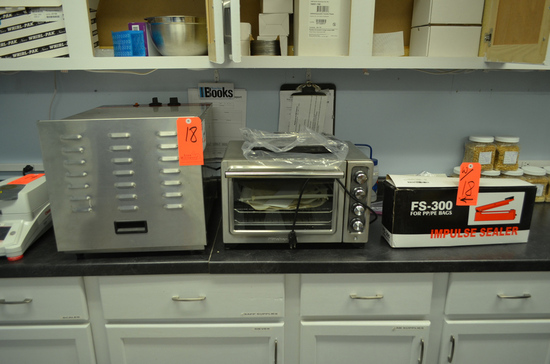Lot - Lab Equipment, to Include: Ventco Drying Oven, Kitchen Aid Convection