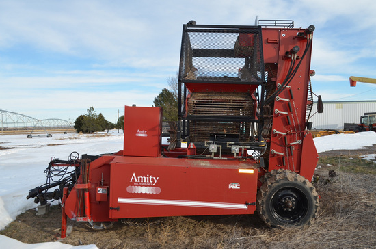 Amity Harvester Model R996 Specialty Harvester, S/N: H329804; 6-Row Unit wi