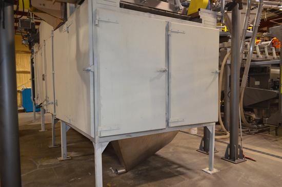 AeroGlide 25 ft. 2-Pass Model C2 48-25 RGC Natural Gas Dryer, S/N: 92-032-0