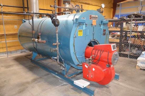 Mohawk Model 4-5-508 Gas-Fired Boiler, S/N: 13767 (1998); Nat'l Board #: 13