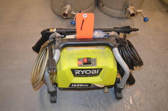 Ryobi 1,600 PSI Portable Electric Pressure Washer