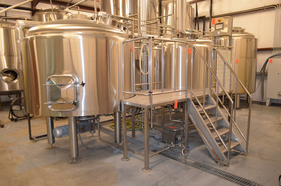Deutsche Beverage Technology Company 3-Vessel 20 BBL Brewhouse to Include: