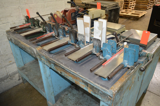 Lot - (6) Bindery Clamps