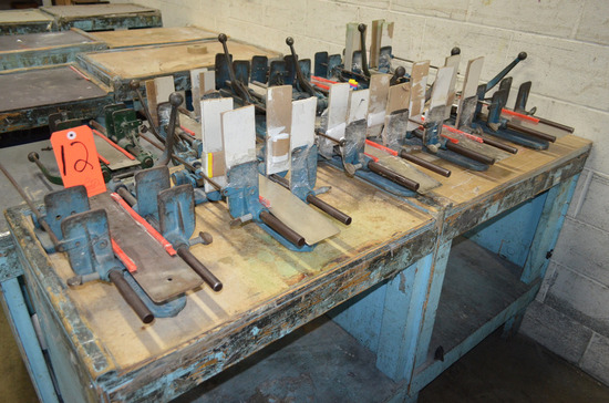 Lot - (5) Bindery Clamps