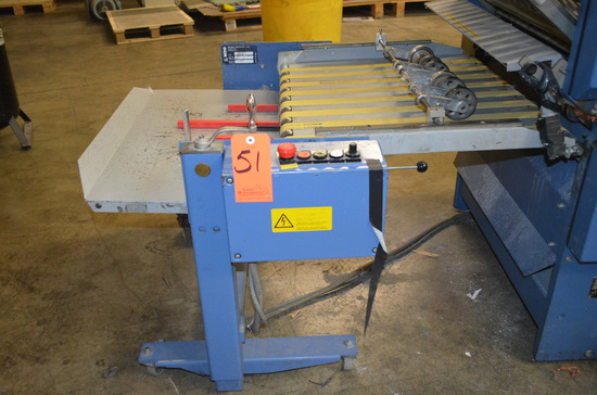 MBO Model A76-DC-24 Delivery Unit; Serial: X08/07