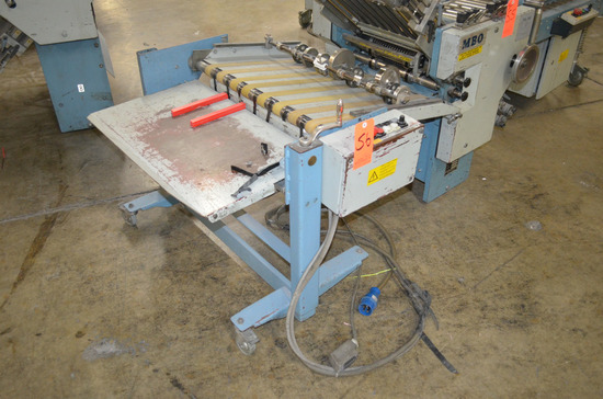 MBO Model A76-DC-18 Delivery Unit; Serial: P04/56
