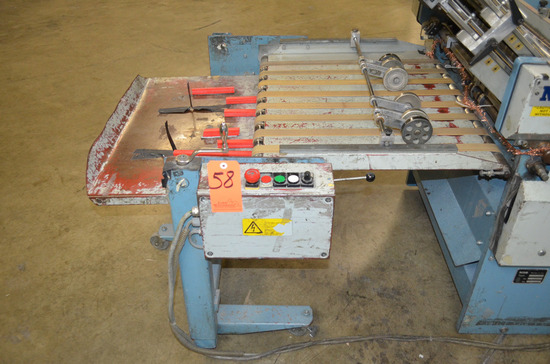 MBO Model A76-DC Delivery Unit; Serial: J.11/96