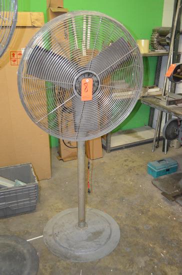 TPI 30 in. Pedestal Fan