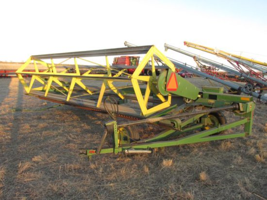 JD C5818 pull type swather 18     Auctions Online | Proxibid