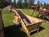 Cement conveyor with gas engine to be used with a payloader, unknown condit