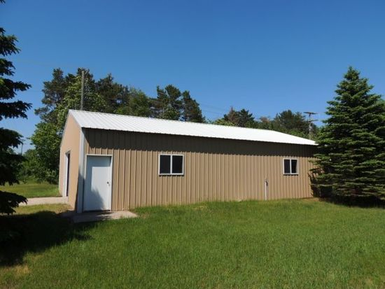 Approximatley a 2002 Steel Pole Building 32x48 in size.  Two overhead doors