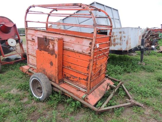 Ranger cattle shoot on wheels (M)