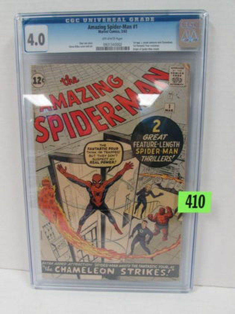 Amazing Spider-man #1 (1963) Holy Grail 1st Issue Cgc 4.0