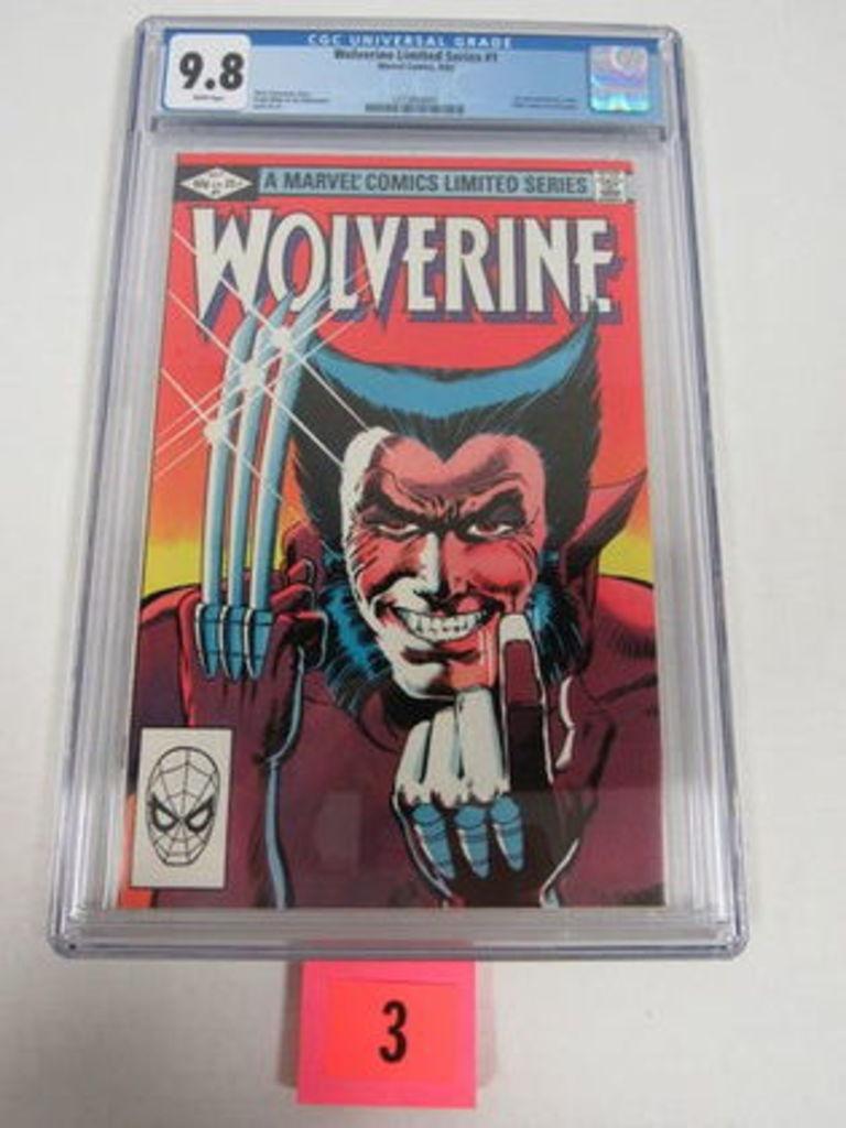 Huge Vintage Comic Book Auction