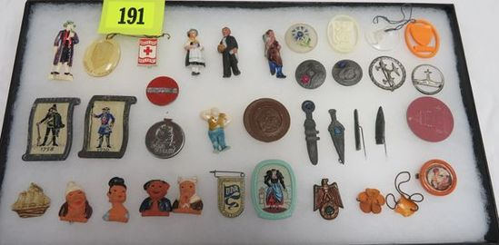 Lot of (36) German Nazi WHW /     Auctions Online | Proxibid