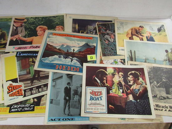 Group Of (25) Vintage Movie Lobby Cards