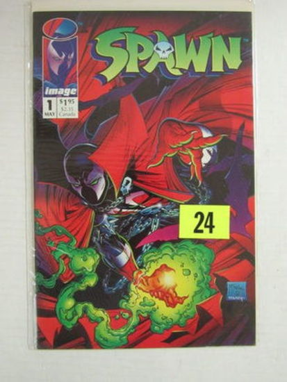 Spawn #1 (1992) Classic 1st Issue/ Mcfarlane/ 1st Printing