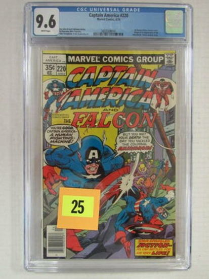 Captain America #220 (1978) 1st Appearance Ameridroid Cgc 9.6