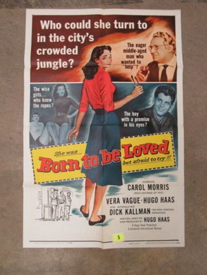 Born To Be Loved (1959) Movie Poster