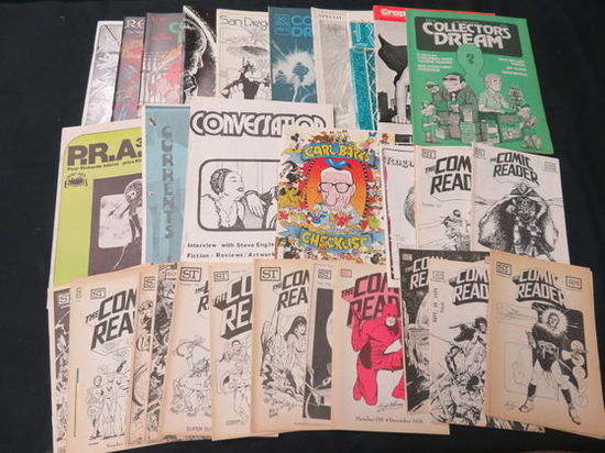 Comic Reader And Other Fanzines Group | Art, Antiques