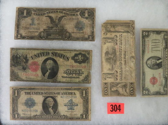 Estate Found Group of Old U.S. Currency