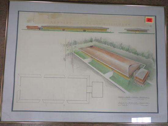 Whitey Hale Labor Museum Conv Center (Flint MI) Architectural Concept Art