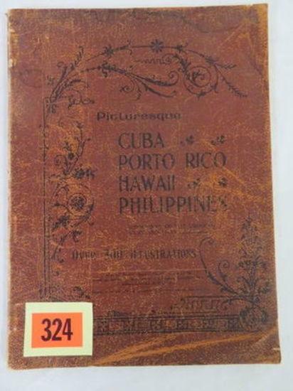 Rare 1898 Cuban Photo Book
