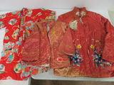 Lot of (3) Vintage Japanese Kimonos