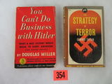 Lot of (2) Anti-Nazi WWII Paperback Books