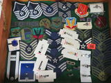 Collection of 50+ U.S. Air Force Pins and Patches
