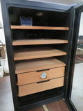 Excellent Whytner Electric Stainless Steel Cigar Humidor