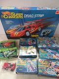 1990s Hot Wheels Super Charger Drag Strip Lot