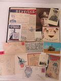 Case Lot of Military Ephemera Inc. Photos, Postcards, Cover envelopes, Etc.