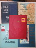 Lot of (4) 1960s - 1970s U.S. Army Training Center Year Books