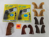 Lot of New and Used Gun Grips, Inc. Colt, S&W, Ruger and Others