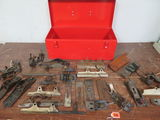 Snap On Tool Box w/ Assorted Wood Working Plane Parts