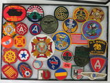 Lot of (30) U.S. Military Patches Inc. Some WWII