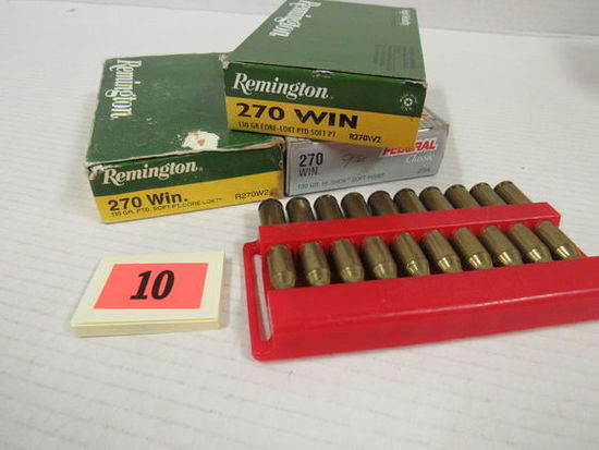 3+ Boxes (59 Rds) NOS 270 Win Ammo