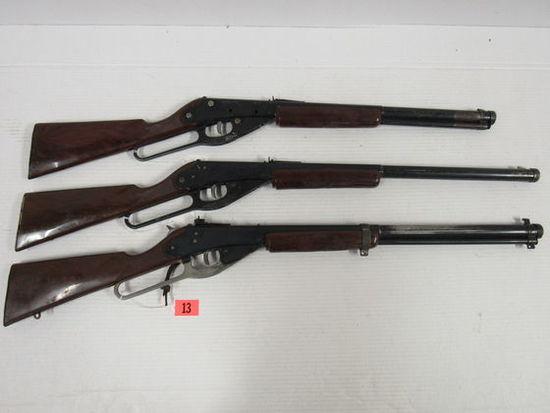 Lot (3) Daisy (Plymouth, MI) BB Guns. All Working