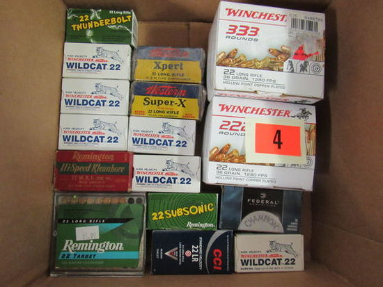 Massive Lot (1300 Rds) NOS 22 Long Rifle Ammo
