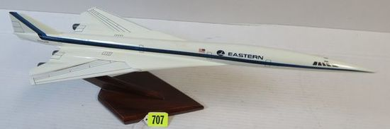 """Excellent Eastern Airlines 24"""" Boeing 2707 Airplane Desk Model"""