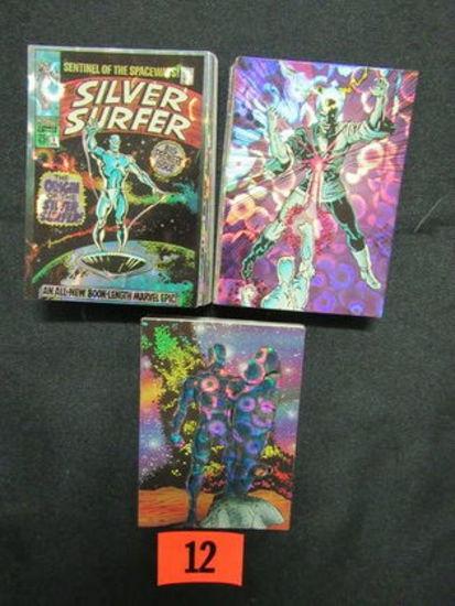 Silver Surfer (1992) Foil/prisom Non-sport Set