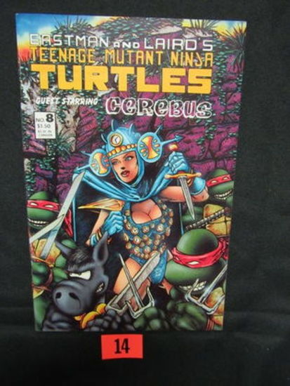 Teenage Mutant Turtles #8/1st Printing