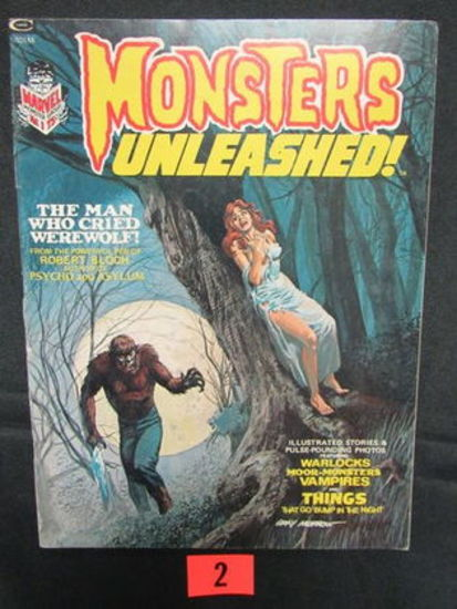 Monsters Unleashed #1/1973 Marvel