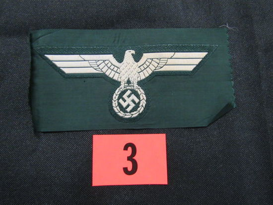 Wwii Nazi Wehrmacht Cloth Eagle