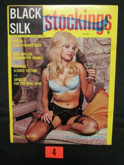 Black Silk Stockings V2 #4/1967 Pin-up