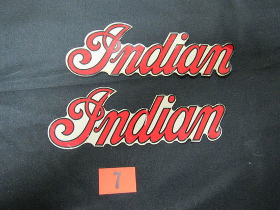 Vintage Indian Motorcycle Stickers