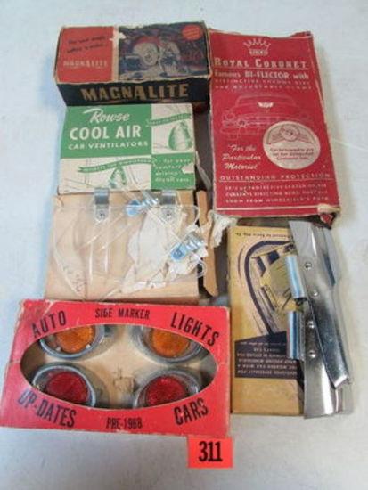 Grouping Original 1940's/50's Automobile Accessories