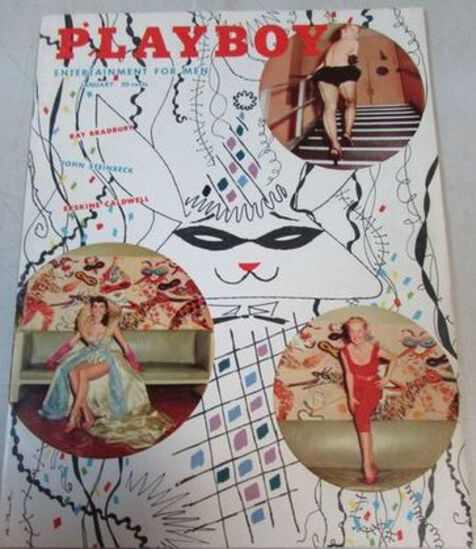 Huge Online Only Ephemera Auction Pin-Up, Books++